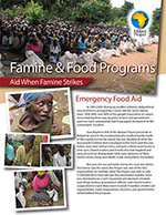 Program – Famine and Food