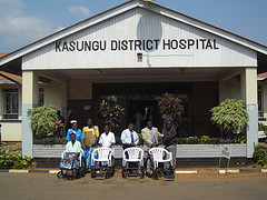 Kasungu Hospital Wheelchairs