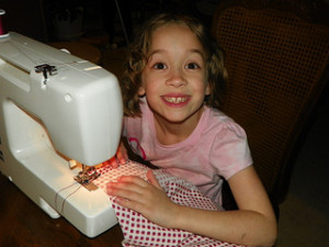 Making Dresses for girls in Malawi
