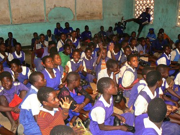 Shoes for Grades – Katamba Primary School