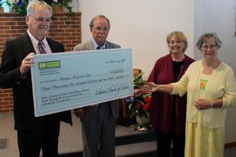INDIANA CHURCH DONATES TO FOOD SECURITY