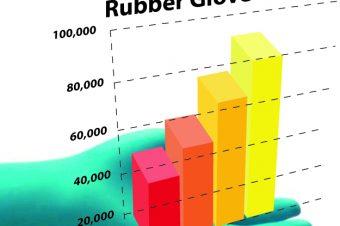 GLOVE TOTAL REACHES 80,000