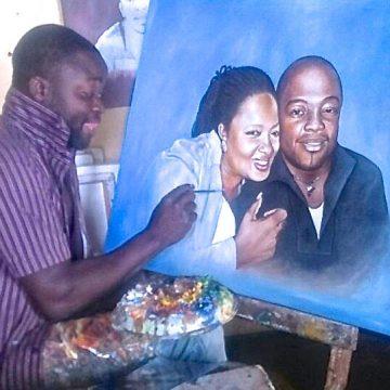 MALAWI ARTIST PAINTS SUCCESS