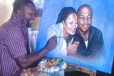 MALAWI ARTIST PAINTS SUCCESS