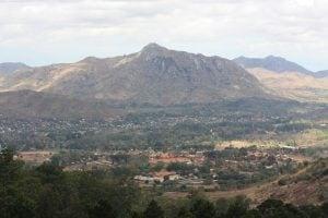 Plateau overlooking Zomba