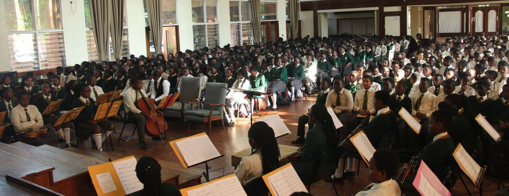 Kamuzu Academy for students whose scholastic standing placed them in the gifted student category