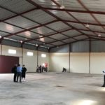 Inside view of the new distribution hub