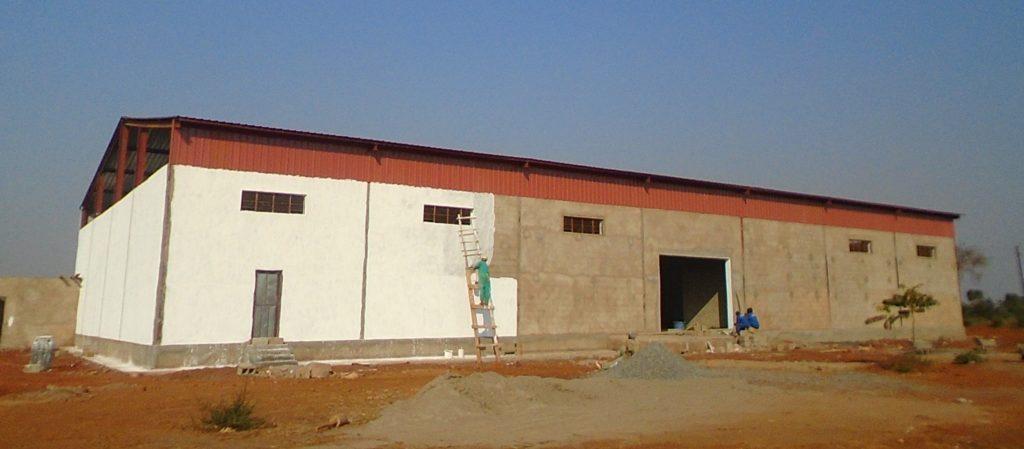 New distribution hub building