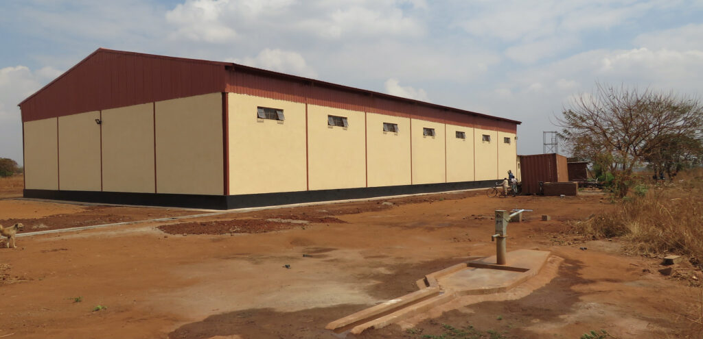 Warehouse & Well