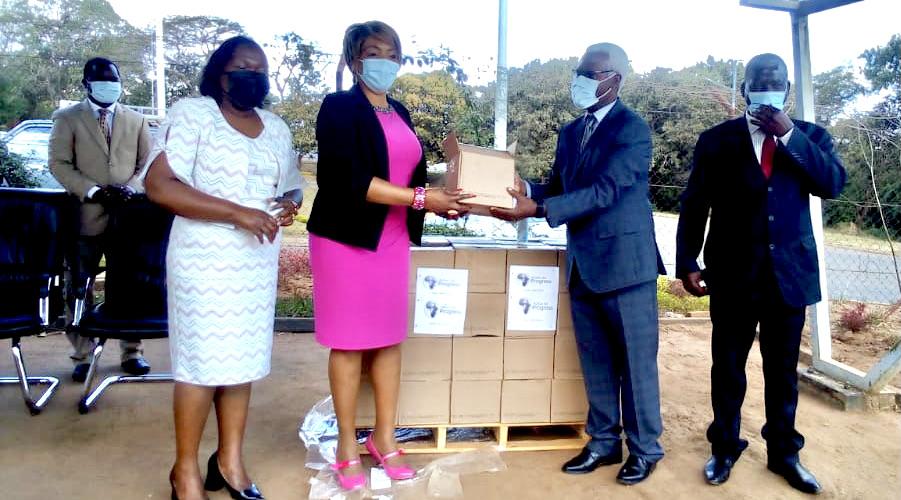 Chrissie Kalamula Kanyasho and Chester Kabinda-Mbewe